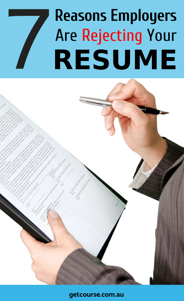 Please take time to read these common reasons why employers reject resumes so you can avoid them the next time around. Better be informed than sorry, yes?